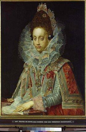 Candid (eigtl.Pieter de Witte): Herzogin Magdalena von Bayern