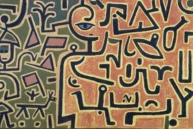 Paul Klee: Vorhaben (Entwurf)