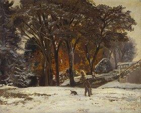 Gustave Courbet: Der Wilddieb (Le Braconnier)