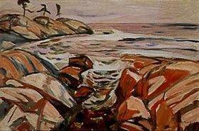 Edvard Munch: Küstenlandschaft (Hvitsten)