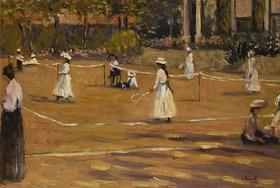 Marguerite Rousseau: Beim Tennisspiel