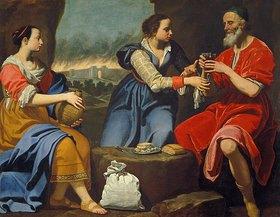 Lorenzo Lippi: Loth und seine Töchter