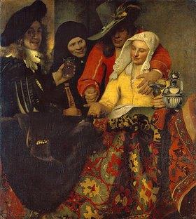 Jan Vermeer van Delft: Bei der Kupplerin