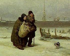 Viktor Michailow Wasnezow: Die Obdachlosen