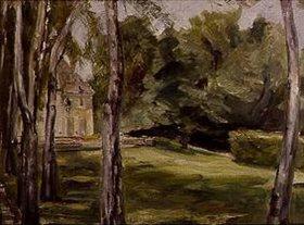 Max Liebermann: Haus im Garten