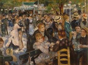 Auguste Renoir: Ball im Restaurant Moulin de la Galette auf dem Montmartre