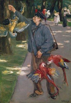 Max Liebermann: Der Papageienmann