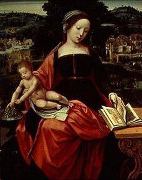 Meister der weibl. Halbfiguren: Madonna mit Kind