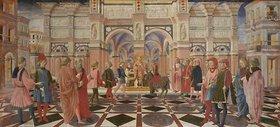 Il Vecchietta (P.di Lorenzo): Das Eselswunder des hl.Antonius