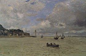 Claude Monet: Der Leuchtturm von Honfleur