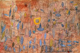 Paul Klee: Spärlich belaubt. 1934.