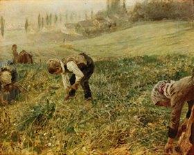 Fritz von Uhde: Die Ährenleser