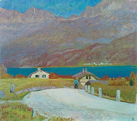Giovanni Giacometti: Engadiner Landschaft