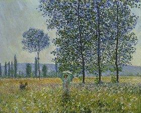 Claude Monet: Felder im Frühling