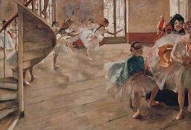 Edgar Degas: Die Tanzprobe