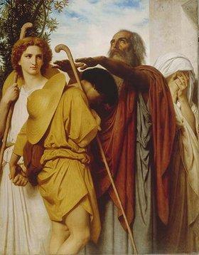 William Adolphe Bouguereau: Tobias' Abschied von seinem Vater