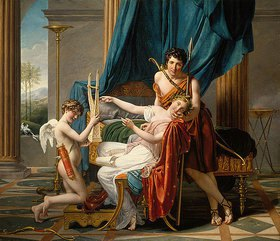 Jacques Louis David: Sappho und Phaon