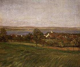 Wilhelm Trübner: Ermatingen am Bodensee