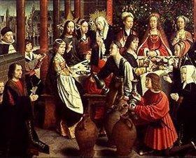 Gerard David: Die Hochzeit zu Kanaa