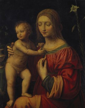 Bernardino Luini: Maria mit dem Kinde