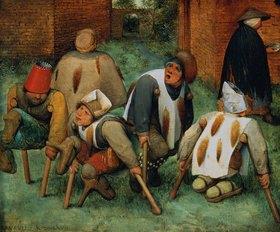Pieter Brueghel d.Ä.: Die Bettler (Die Krüppel)