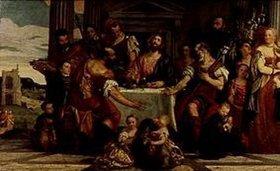 Paolo (Paolo Caliari) Veronese: Das Mahl in Emmaus