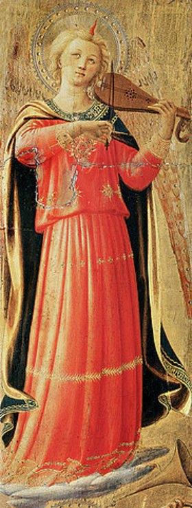 Fra Angelico: Musizierender Engel