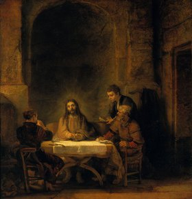 Rembrandt van Rijn: Das Mahl in Emmaus