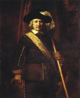 Rembrandt van Rijn: Der Standartenträger Floris Soop