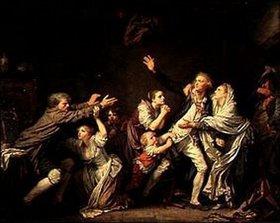 Jean Baptiste Greuze: Der väterliche Fluch (oder: Der undankbare Sohn)