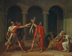 Jacques Louis David: Der Schwur der Horatier