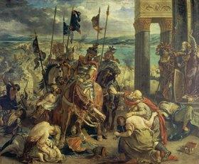 Eugene Delacroix: Einzug der Kreuzfahrer in Konstantinopel am 12.April