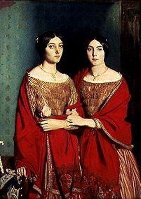 Theodore Chasseriau: Die beiden Schwestern des Künstlers