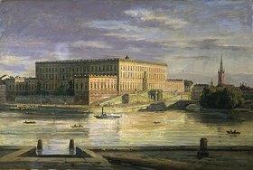 Martinus Roerbye: Stockholm, das königliche Schloss