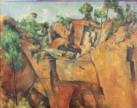Paul Cézanne: Steinbruch bei Bibémus