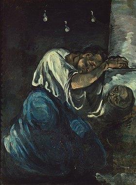 Paul Cézanne: Die trauernde Magdalena. Gegen