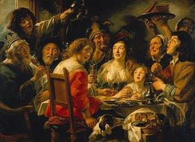 Jacob Jordaens: Der König trinkt (Epiphaniasfeier)