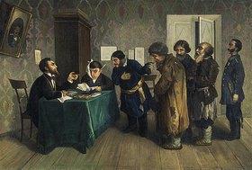 Nikolai Petrowitsch Sagorskij: In einer russischen Amtsstube