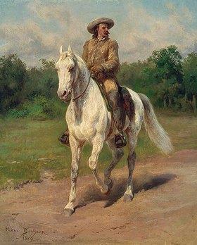 Rosa Bonheur: Colonel William F. Cody zu Pferde