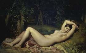 Theodore Chasseriau: Schlafende Nymphe