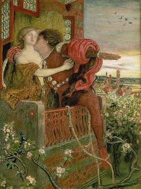 Ford Madox Brown: Romeo und Julia