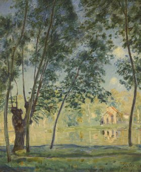 Alfred Sisley: Flusslandschaft