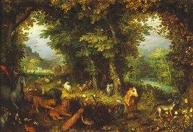 Jan Brueghel d.Ä.: Das irdische Paradies