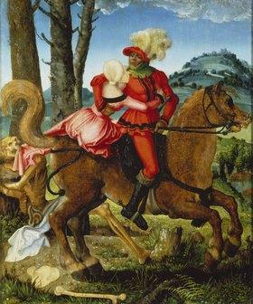 Hans Baldung (Grien): Ritter, Mädchen und Tod