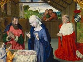 Jean (Meister von Moulins) Hey: Geburt Christi