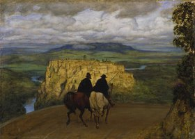 Hans Thoma: Erinnerung an Orte