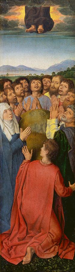 Auferstehungsaltar, rechter Altarflügel
