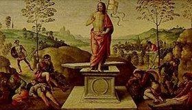 Perugino (Pietro Vanucci): Die Auferstehung Jesu