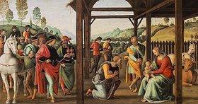 Perugino (Pietro Vanucci): Die Anbetung der Könige