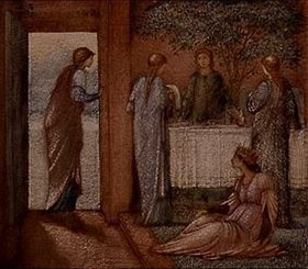Sir Edward Burne-Jones: Die Halle der Welsungen.
